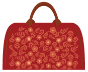 Mary Poppins bag icon